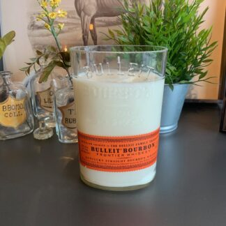 Recycled Bulleit Bourbon Candle (Tall)