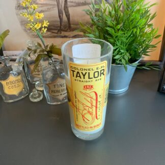 Recycled EH Taylor Bourbon Candle