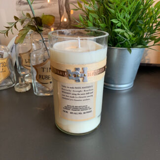 Recycled Basil Hayden Bourbon Candle
