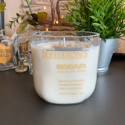 Recycled Jefferson's Reserve Ocean Bourbon Candle