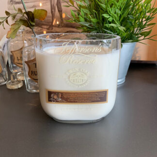 Recycled Jefferson's Reserve Twin Oak Bourbon Candle