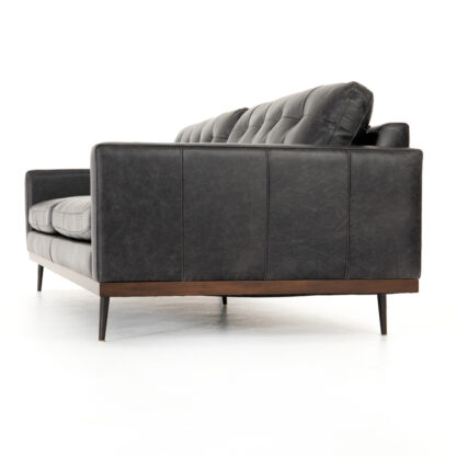 Lexi Sofa- Sonoma Black Leather