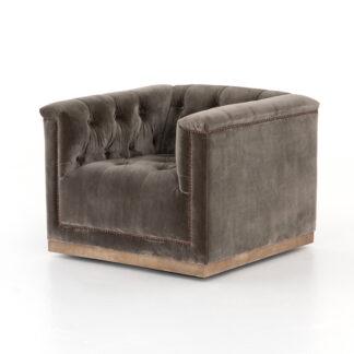 Maxx Swivel Chair- Birch
