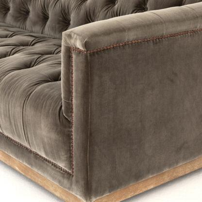 Maxx Birch Tufted Velvet Sofa