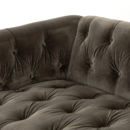 Maxx Birch Tufted Velvet Sofa