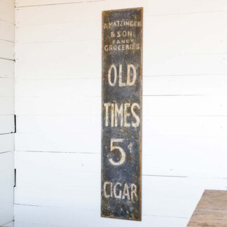 Metal Old Country Store Sign