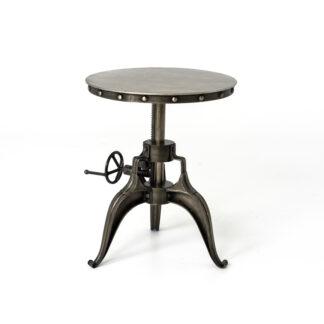 "22"" Metal Crank Table"