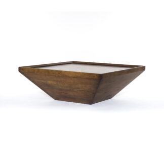 Drake Reclaimed Wood Coffee Table- Fruitwood