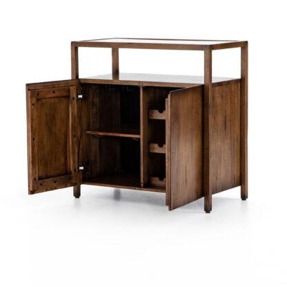Rodney Bar Cabinet- Reclaimed Fruitwood