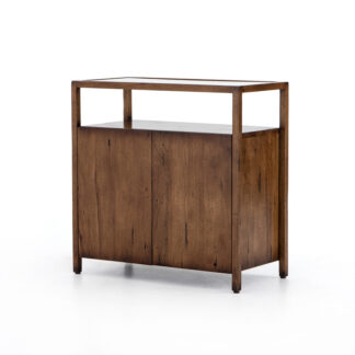 Rodney Bar Cabinet- Reclaimed Fruitwood