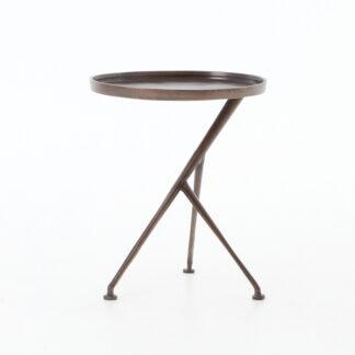 Schmidt Accent Table- Antique Rust