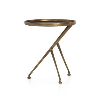 Schmidt Accent Table- Raw Brass