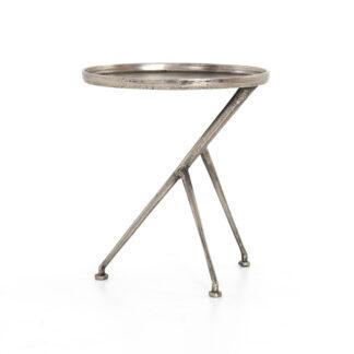 Schmidt Accent Table- Antique Nickel