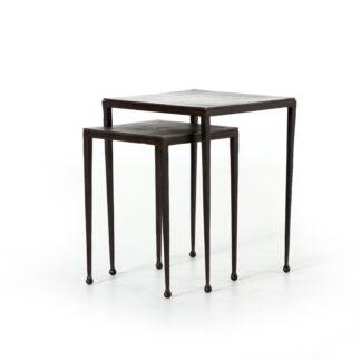 Dalston Nesting Tables- Antique Rust