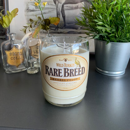 Recycled Wild Turkey Rare Breed Bourbon Candle