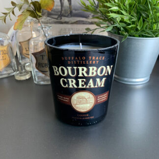 Recycled Buffalo Trace Bourbon Cream Candle