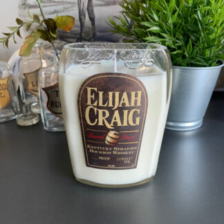 Recycled Elijah Craig Barrel Proof Bourbon Candle