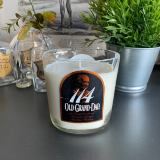 Recycled Old Grand-Dad Bourbon Candle