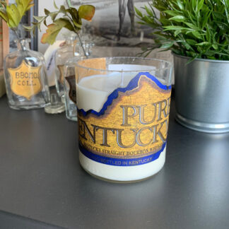 Recycled Pure Kentucky Bourbon Candle