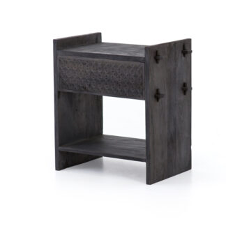Columbus Side Table- Dark Totem