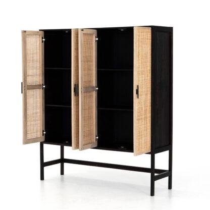 Caprice Cabinet- Washed Black