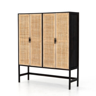 Caprice Cabinet- Washed Black