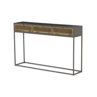 Hendrick Metal Console Table