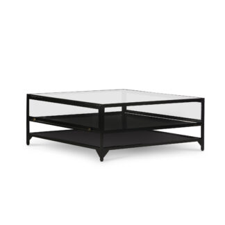 Shadow Box Square Coffee Table