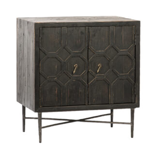 Harten Distressed Wood Sideboard