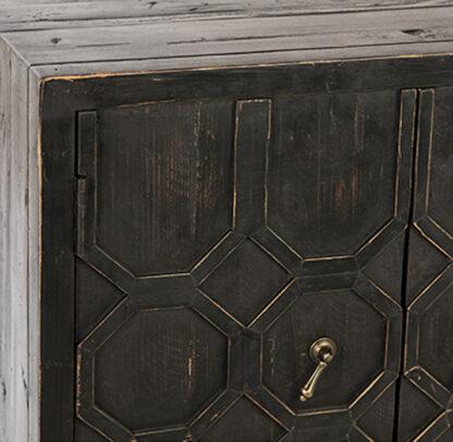Harten Distressed Wood Sideboard