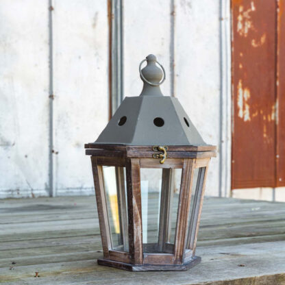 Rustic Garden District Lantern