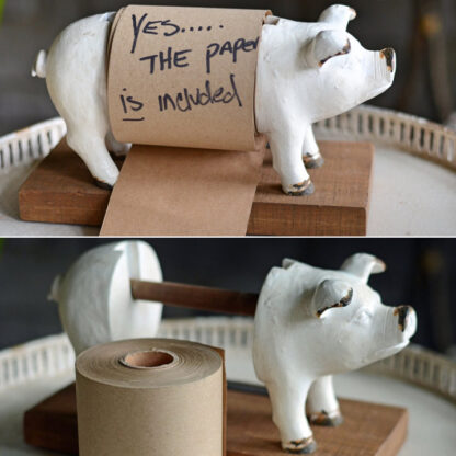 Pig Note Scroll