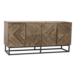 Holbrook Distressed Wood Sideboard