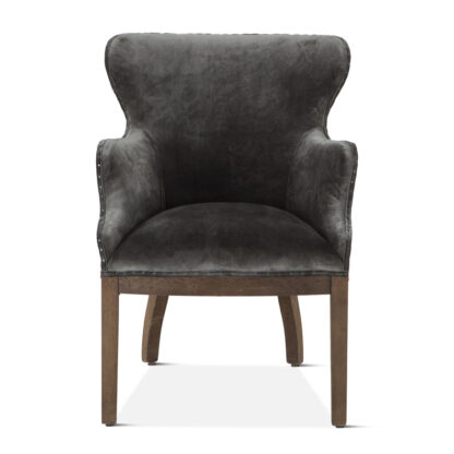 Thebes Deconstructed Velvet Chair