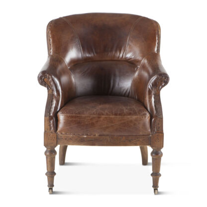 Charleston Deconstructed Leather Chair