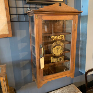 Vintage Tower Tea Wall Cabinet
