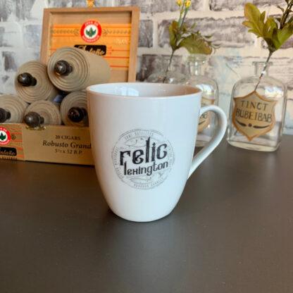 relic logo mug