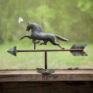 Table Top Horse Weathervane