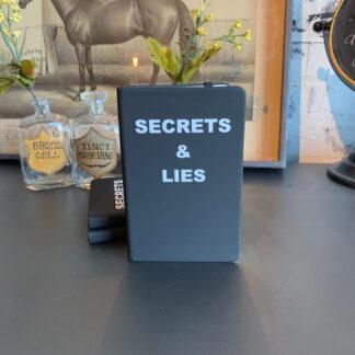 Journal- Secrets & lies