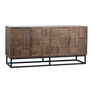 Patrick Distressed Wood Sideboard