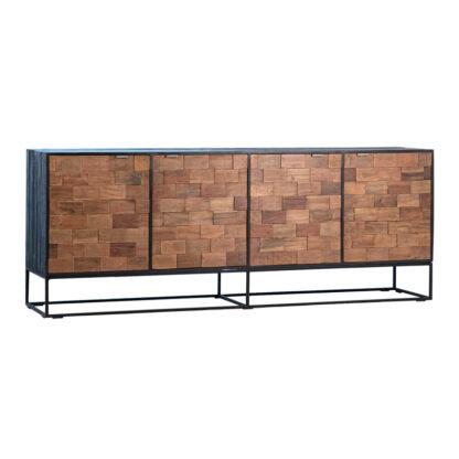 Tacoma Distressed Wood Sideboard