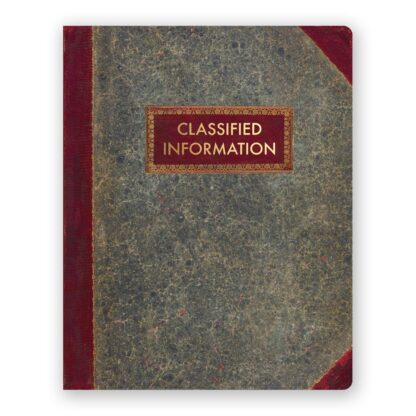 Classified Information Journal- Large