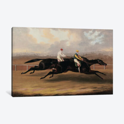 Flying Dutchman and Voltigeur- Framed Canvas Giclee