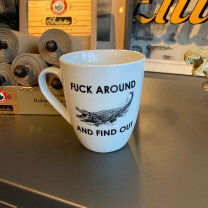 Find Out Coffee Mug