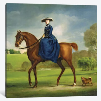The Countess of Coningsby- Framed Canvas Giclee
