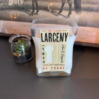Recycled Larceny Bourbon Candle