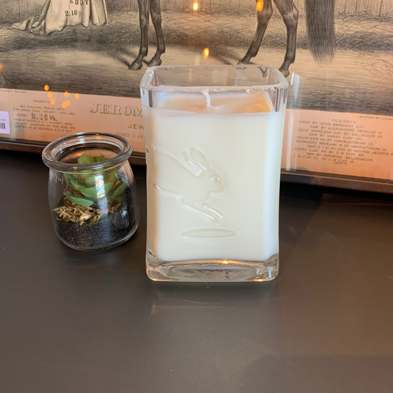 Recycled Rabbit Hole Bourbon Candle