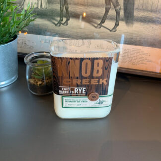 Recycled Knob Creek TB Rye Candle