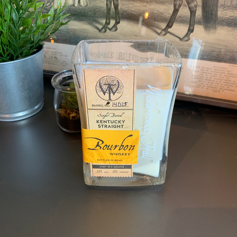 Recycled Wilderness Trail Bourbon Candle