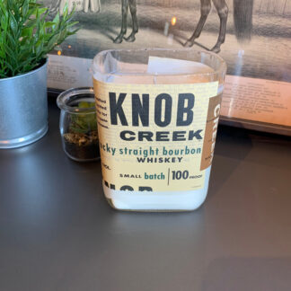 Recycled Knob Creek Small Batch Candle